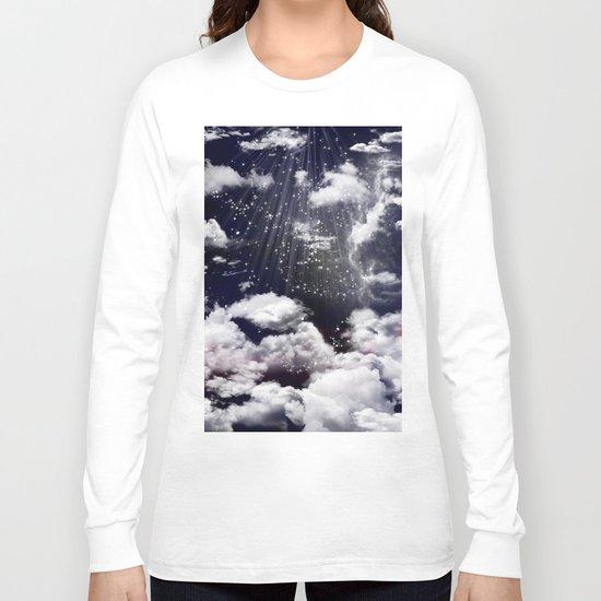 Deep Blue sky Long Sleeve T-shirt