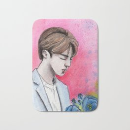 Jin | BTS Bath Mat