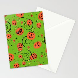 Halloween Magic- Green Stationery Cards