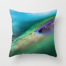 Through The Waves Throw Pillow