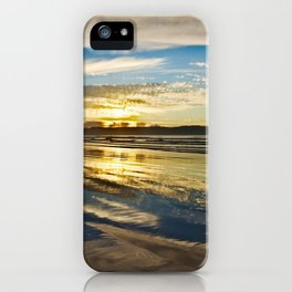 Benone Beach - Sunset iPhone Case