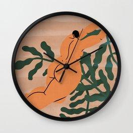 Jane of the jungle Wall Clock