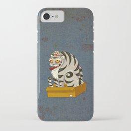 Minhwa: Big Happy Cat D Type (Korean traditional/folk art) iPhone Case