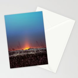 Winter Sun Rising Stationery Cards