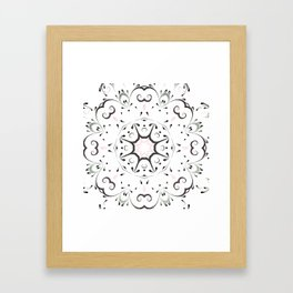 light and airy by Leslie harlow Framed Art Print