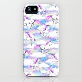 Unicorns and Rainbows iPhone Case