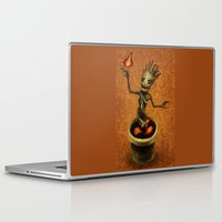 groot Laptop & iPad Skins featuring Groot by Anna Shell