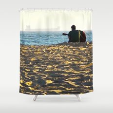 Play Us A Song Shower Curtain