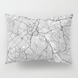Sao Paulo Map Line Pillow Sham