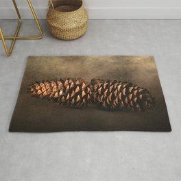 Fallen - Pine Cones Rug