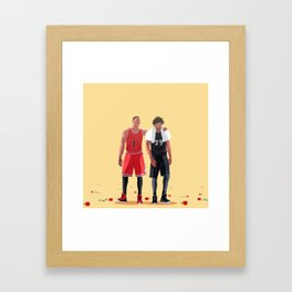 """You did great, bro."" Framed Art Print"