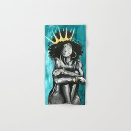 Naturally Queen IX TEAL Hand & Bath Towel