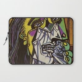 THE WEEPING WOMAN - PICASSO Laptop Sleeve
