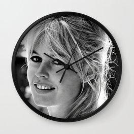 Brigitte Bardot Retro Vintage Art Wall Clock