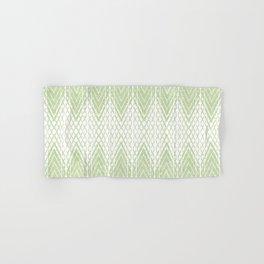 Velvety Snakeskin Pattern in Lime Green Hand & Bath Towel
