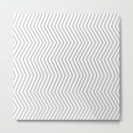 KAYA ((calm gray)) Metal Print