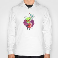 invader zim Hoodies featuring Invader Zim Hug by Super Group Hugs