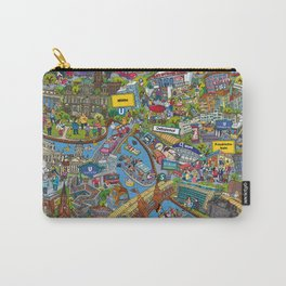 Illustrated map of Berlin Carry-All Pouch