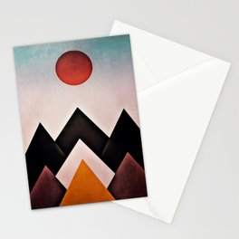 mountain-194 Stationery Cards