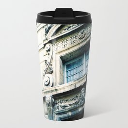 Windows and Faces in Montmarte Travel Mug