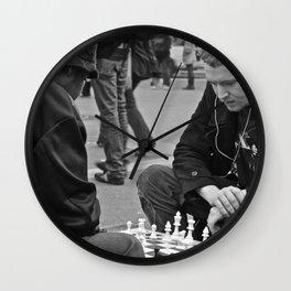 The Showdown (Part 3: NYC) Wall Clock