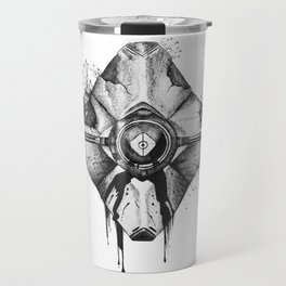 Decaying Ghost Shell Travel Mug