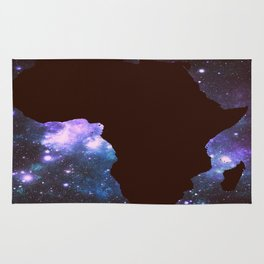 Galaxy Africa Continent Rug