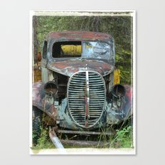 OldTruck Canvas Print