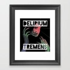 Delirium Tremens Framed Art Print