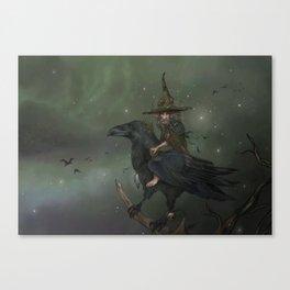 Munin, Autumn Spirit Canvas Print