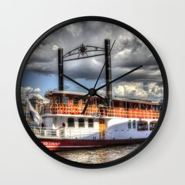 The Elizabethan Paddle Steamer Wall Clock