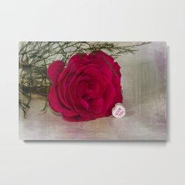 Love Rose  Metal Print