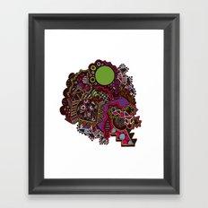 Centrally Framed Art Print