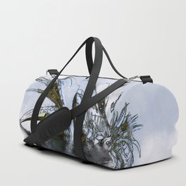 Blue Dragon Duffle Bag