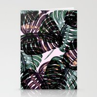 leaf Stationery Cards featuring Leaf by Burcu Korkmazyurek