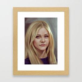 Chloe Moretz   Framed Art Print