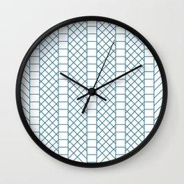 Criss Cross - Ladder Wall Clock