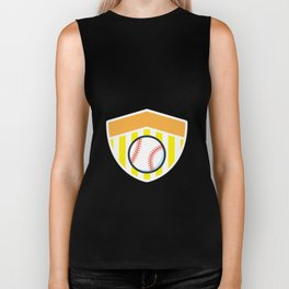 Softball And Dad For Men - Fathers Day Gifts Biker Tank