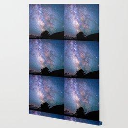 The Night Sky II - glowing stars Wallpaper