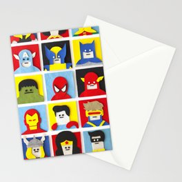 Felt Heroes Stationery Cards