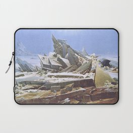 The Sea of Ice - Caspar David Friedrich Laptop Sleeve