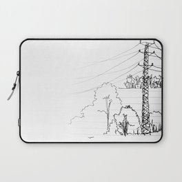 view from train Laptop Sleeve