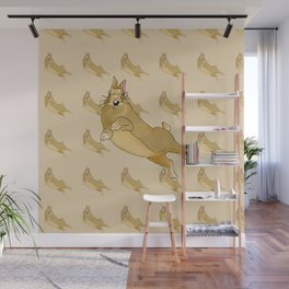 Butterscotch Binkie - Patterned+Main Wall Mural
