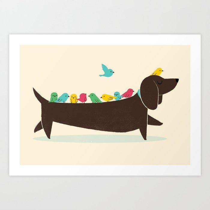 Bird Dog Kunstdrucke