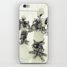 MOTHERFRAME iPhone & iPod Skin