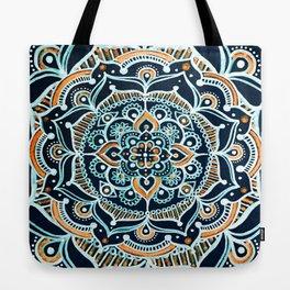 Bohemian Zen Mandala Tote Bag