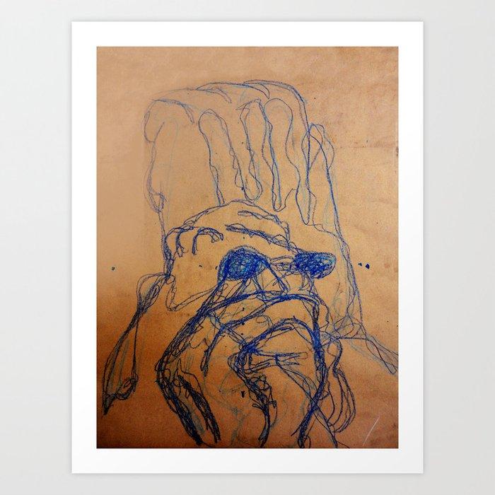 HANDMADE Art Print