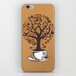 Coffee Tree iPhone Skin