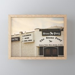 The Stone Pony Framed Mini Art Print