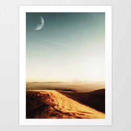 Dusty Comets Art Print